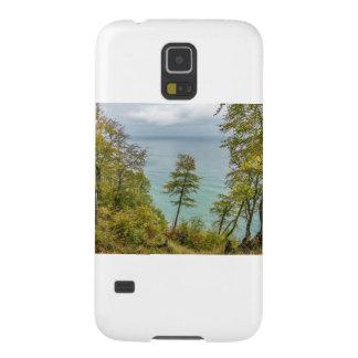 Capas Par Galaxy S5 Floresta litoral na costa de mar Báltico