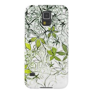Capas Par Galaxy S5 Fundo floral moderno 234