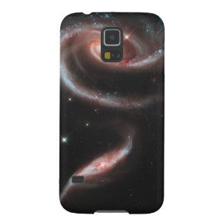 Capas Par Galaxy S5 Galáxia cor-de-rosa