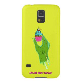 Capas Par Galaxy S5 Mão do zombi - você é o que você come