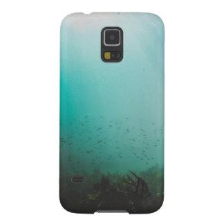 Capas Par Galaxy S5 mar azul subaquático