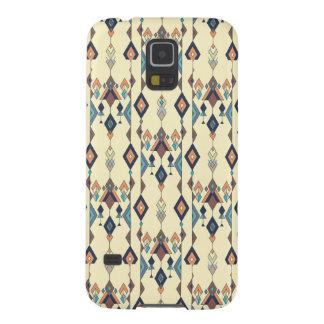 Capas Par Galaxy S5 Ornamento asteca tribal étnico do vintage