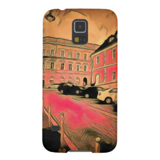 Capas Par Galaxy S5 Pintura de Sibiu