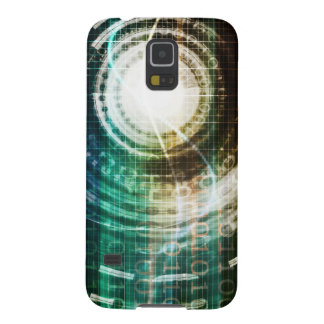 Capas Par Galaxy S5 Portal futurista da tecnologia com Digitas