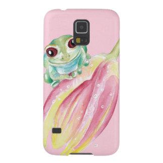 Capas Par Galaxy S5 Sapo bonito no rosa