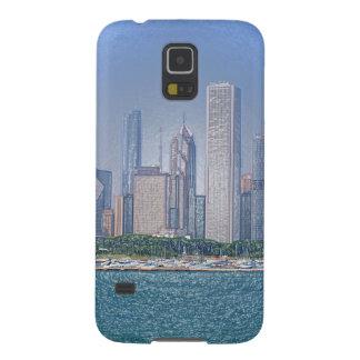 Capas Par Galaxy S5 Skyline de Chicago