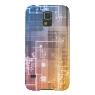 Capas Par Galaxy S5 Tecnologia futurista como uma arte da próxima