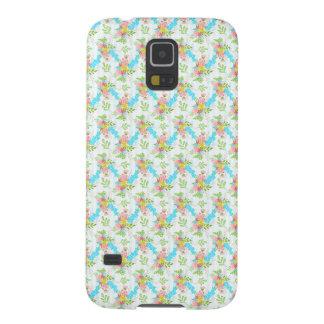 Capas Par Galaxy S5 Teste padrão floral