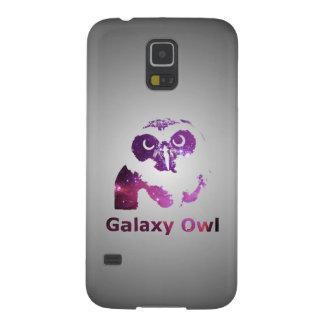 Capas Par Galaxy S5 Universo roxo da coruja | da galáxia