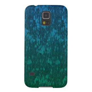 Capas Par Galaxy S5 verde azul abstrato