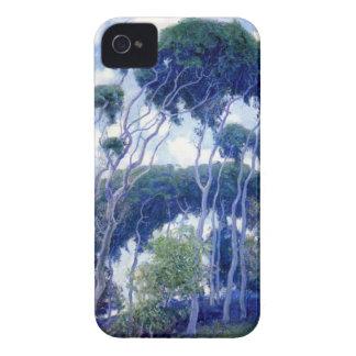 Capas Para iPhone 4 Case-Mate A cara aumentou - eucalipto de Laguna - obra-prima