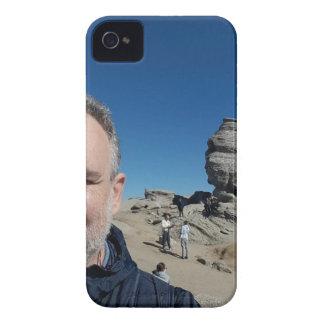 Capas Para iPhone 4 Case-Mate A esfinge, montanhas de Bucegi, Romania (design