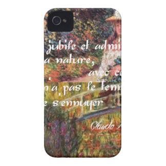 Capas Para iPhone 4 Case-Mate A natureza no art. de Monet