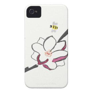 Capas Para iPhone 4 Case-Mate Abelhas da magnólia e do mel