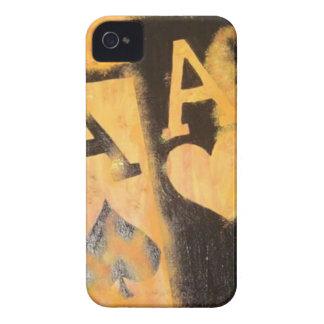Capas Para iPhone 4 Case-Mate Áss de Burnig
