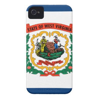 Capas Para iPhone 4 Case-Mate Bandeira de West Virginia