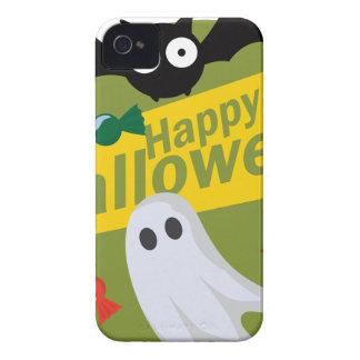 Capas Para iPhone 4 Case-Mate Bastões e fantasmas felizes do Dia das Bruxas