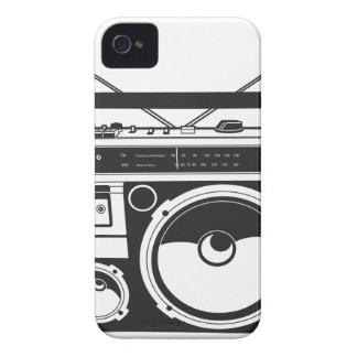 Capas Para iPhone 4 Case-Mate ☞ box de boom Oldschool, Cassette Player/