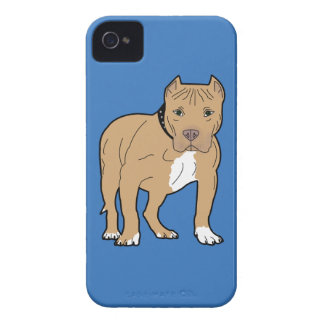Capas Para iPhone 4 Case-Mate Cão personalizado de Pitbull do americano