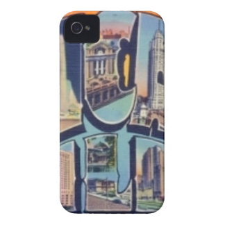 Capas Para iPhone 4 Case-Mate Cidade de Chicago do vintage