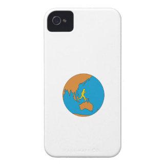 Capas Para iPhone 4 Case-Mate Corredor de maratona que funciona em torno do