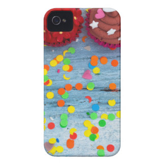 Capas Para iPhone 4 Case-Mate cupcakes coloridos