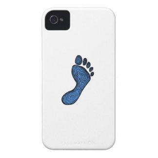 Capas Para iPhone 4 Case-Mate Desenho da pegada