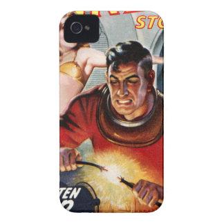 Capas Para iPhone 4 Case-Mate Eletricista do espaço