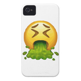 Capas Para iPhone 4 Case-Mate emoji que puking