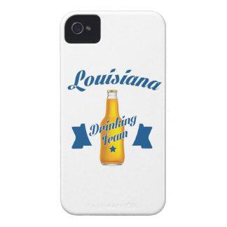 Capas Para iPhone 4 Case-Mate Equipe do bebendo de Louisiana