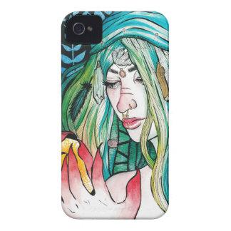 Capas Para iPhone 4 Case-Mate Evergreen - retrato da aguarela