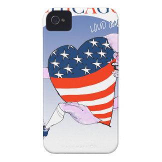 Capas Para iPhone 4 Case-Mate Fernandes tony altos e orgulhosos de Chicago,