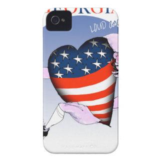 Capas Para iPhone 4 Case-Mate fernandes tony altos e orgulhosos de Geórgia,