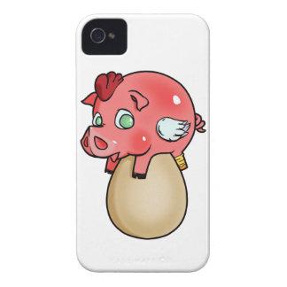 Capas Para iPhone 4 Case-Mate Galinha, porco, Cheeken-Peeg!