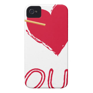 Capas Para iPhone 4 Case-Mate hearts4