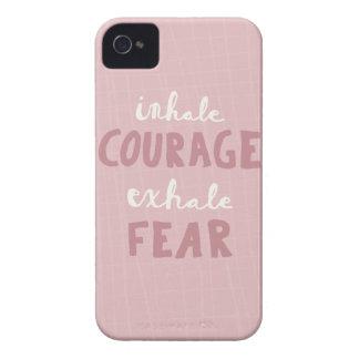 Capas Para iPhone 4 Case-Mate Inale a coragem expiram o medo