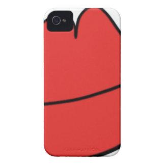 Capas Para iPhone 4 Case-Mate Lábios vermelhos