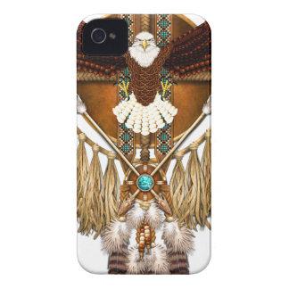 Capas Para iPhone 4 Case-Mate Mandala da águia americana - revisada