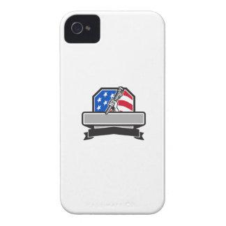 Capas Para iPhone 4 Case-Mate Mão do canalizador que guardara a crista da