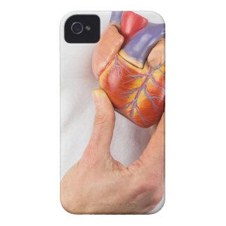 Capas Para iPhone 4 Case-Mate Mão que guardara o coração modelo na caixa