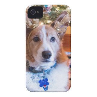 Capas Para iPhone 4 Case-Mate Natal do Corgi de Galês do Pembroke