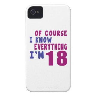 Capas Para iPhone 4 Case-Mate Naturalmente eu sei que tudo eu sou 18