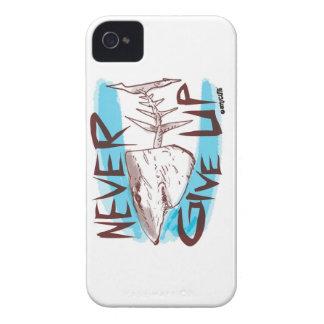Capas Para iPhone 4 Case-Mate nunca dê acima a grande tubarão branco desenhos