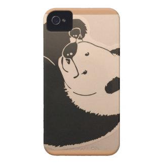 Capas Para iPhone 4 Case-Mate Panda legal com máscaras