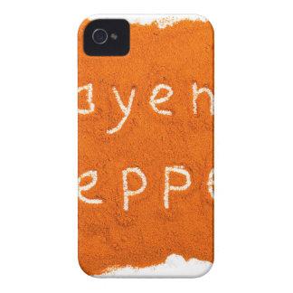 Capas Para iPhone 4 Case-Mate Pimenta de caiena da palavra escrita no pó