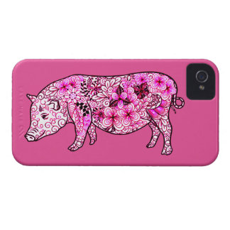 Capas Para iPhone 4 Case-Mate Porco 3