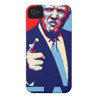 "Capas Para iPhone 4 Case-Mate Poster 2017 da paródia do ""medo"" de Donald Trump"