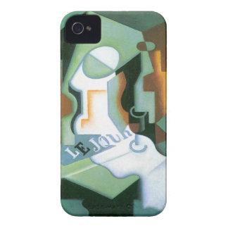 Capas Para iPhone 4 Case-Mate Prato por Juan Gris, Cubism da garrafa e de fruta
