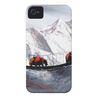 Capas Para iPhone 4 Case-Mate Rebanho de iaques Himalaya da montanha