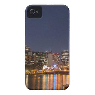 Capas Para iPhone 4 Case-Mate Rio de Melbourne Yarra na noite